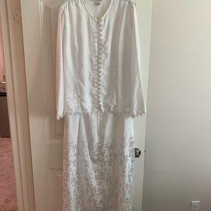 Dynasty Brand LDS Temple dress maxi